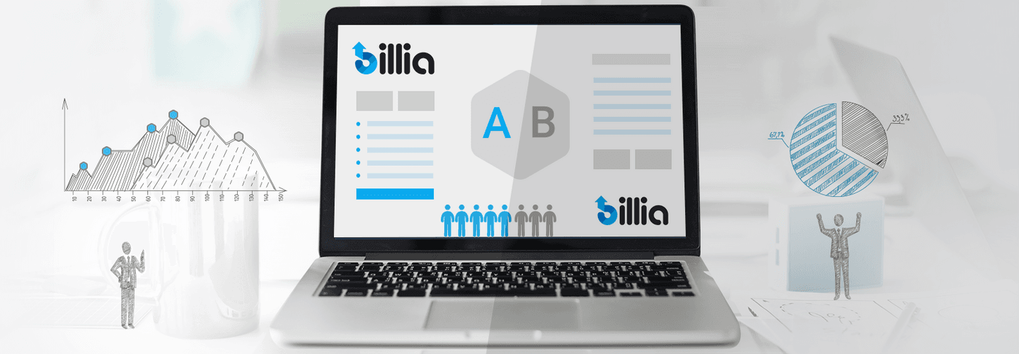 New in Billia - A/B Email Testing